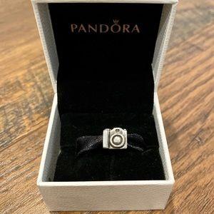 Gently Used Pandora Camera Charm